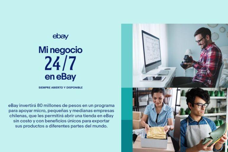 eBay invertirá 80 millones de pesos para apoyar micro, pequeñas y medianas empresas en Chile