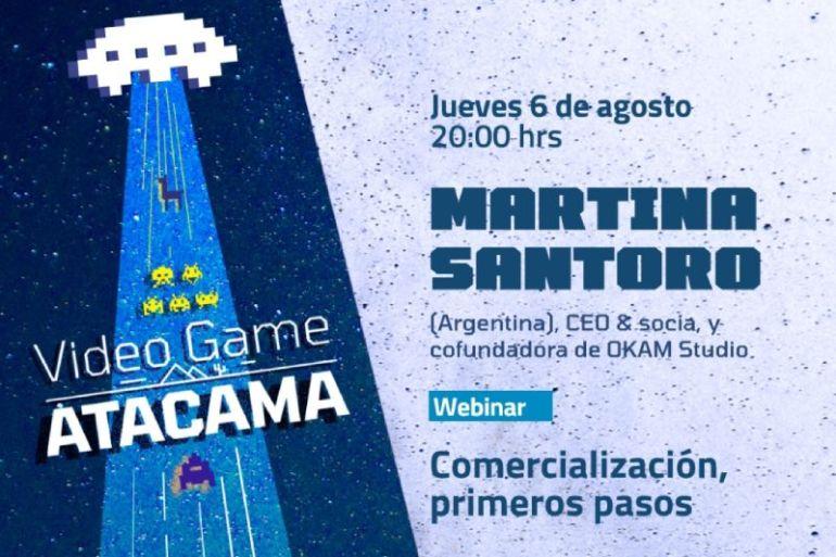 Video Game Atacama desarrollará su último webinar virtual sobre creación de videojuegos propios