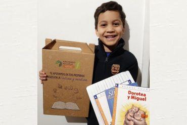 Programa Haciendo Escuela de Falabella realiza donación a comunidad escolar de textos de lectoescritura, tablets, cajas de alimentos e insumos para los colegios