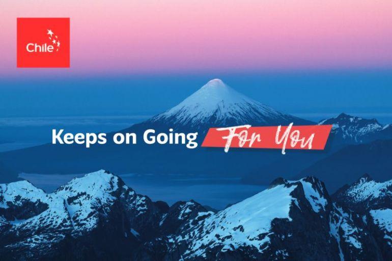"""""""Chile Keeps On Going for You"""", la campaña internacional que buscará reforzar el compromiso de nuestro país con las exportaciones"""