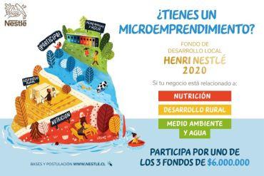 Nestlé Chile lanza nueva edición de su tradicional fondo social ahora en apoyo al microemprendimiento