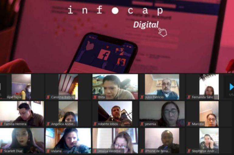 INFOCAP realiza curso online gratuito de capacitación para 300 personas en alianza con SURA Asset Management Chile