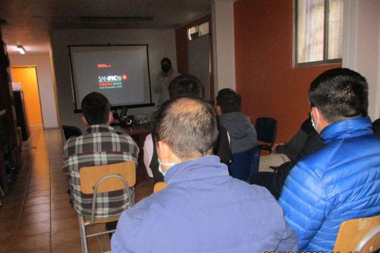 Cerca de 500 personas privadas de libertad participaron en SANFIC 2020