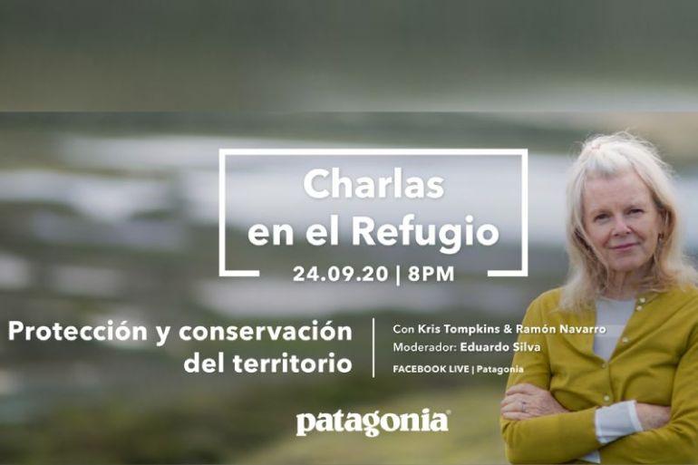 Charla reunirá a la conservacionista Kristine McDivitt Tompkins y al surfista Ramón Navarro para hablar sobre la importancia de la conservación en Latinoamérica