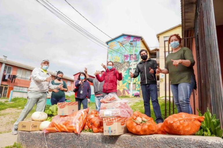 STI realiza campaña 1+1 con sus colaboradores para donar alimentos a ollas comunes