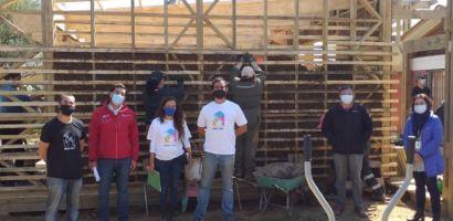 Fundación Minga Valpo construye Sede Vecinal en Villa Alemana de manera sustentable gracias a proyecto FOSIS