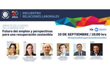 Expertos analizarán la recuperación económica sostenible y la generación de empleos en tiempos de pandemia en encuentro de Pacto Global Chile