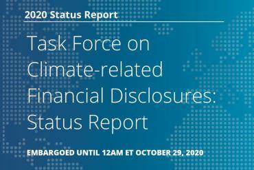 Destacan la necesidad de aumentar divulgación del posible impacto financiero del cambio climático en los negocios y estrategias de las empresas
