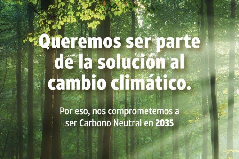 DIRECTV anunció el compromiso de ser carbono neutral para el año 2035