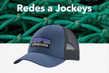 Innovadora iniciativa recicla 35 toneladas de redes de pesca en las costas chilenas para crear viseras de jockeys Patagonia