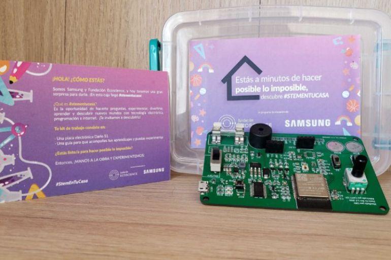 """Samsung y Ecoscience lanzan programa """"STEM en tu Casa"""" para acercar la tecnología a jóvenes de todo Chile"""