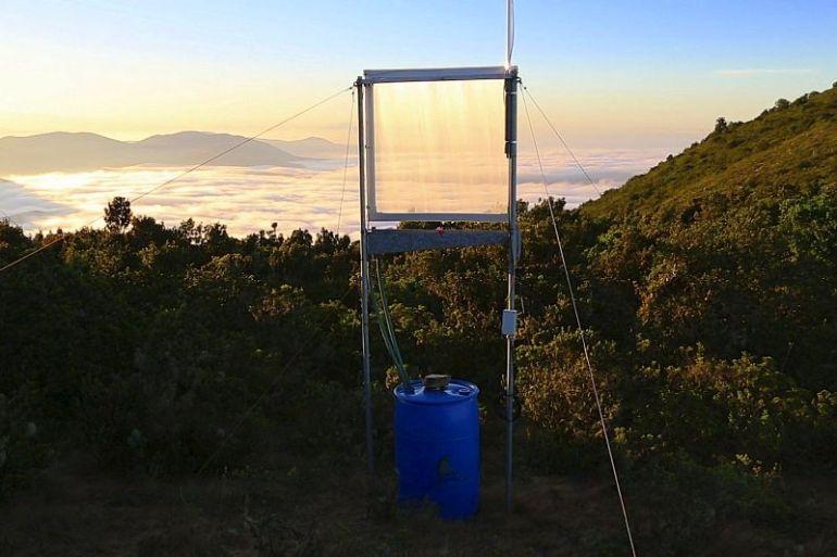 Proyecto académico UAI desarrolla novedoso sistema recolector de niebla para pequeñas comunidades del norte