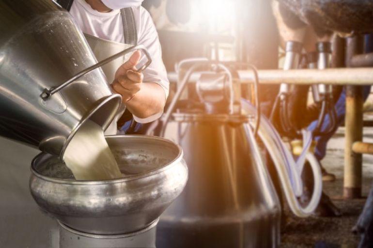 Productores de leche del sur realizan importante donación para distribuir entre fundaciones