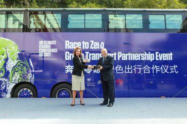 """BYD se suma a la iniciativa """"Race to Zero"""" para la COP26"""