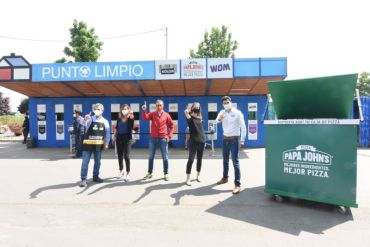Sodimac, Papa John's y Triciclos promueven el compostaje y disposición responsable de residuos