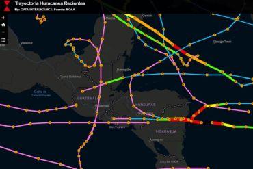 Tecnología chilena va en ayuda de Centro América para hacer completo seguimiento de los huracanes