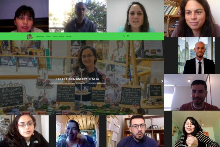 Emprendedoras de Los Ríos mejoran sus negocios con sitios web creados por estudiantes técnico profesionales de ONG Canales