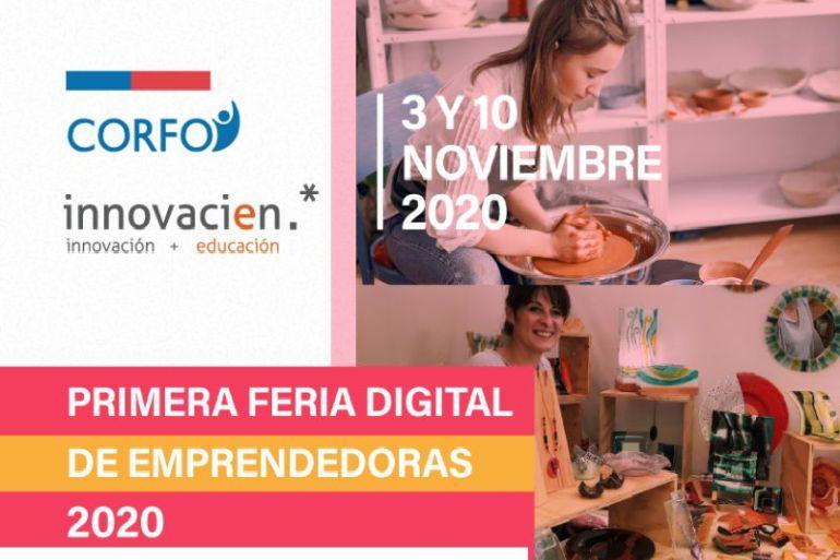 Corfo realiza la primera Feria Digital de mujeres emprendedoras