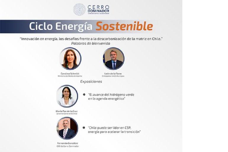 Ciclo de Energía Sostenible organizado por Cerro Dominador