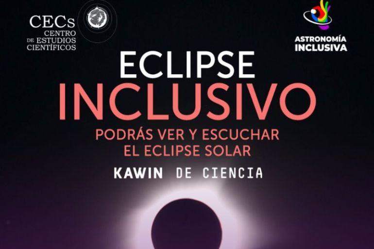 """Lanzan """"Eclipse Solar Inclusivo"""" una experiencia visual y audible"""