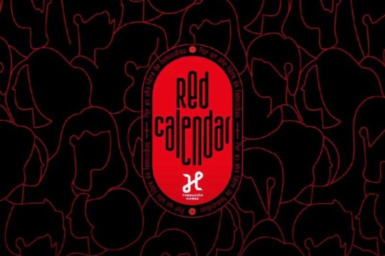 Red Calendar la iniciativa de Fundación Honra que busca visibilizar los más de 60 femicidios de 2020
