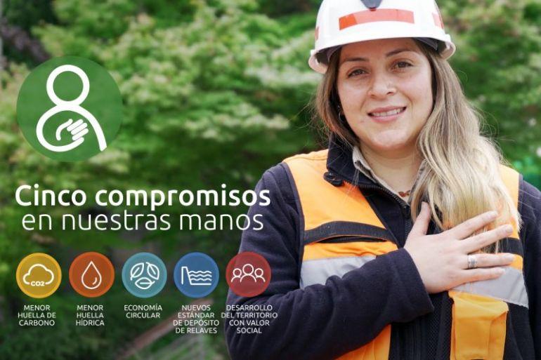 Codelco presenta inéditos compromisos de desarrollo sustentable a 2030