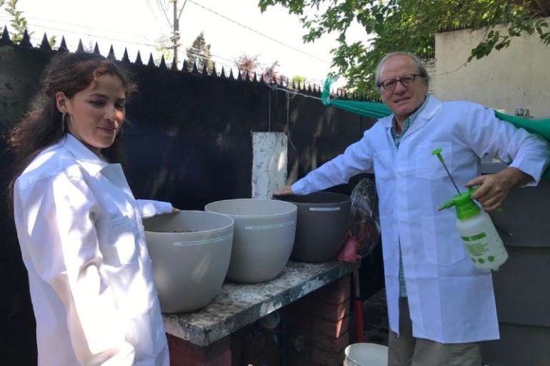 Chilenos inventan tecnología agrícola única en el mundo para combatir la crisis hídrica