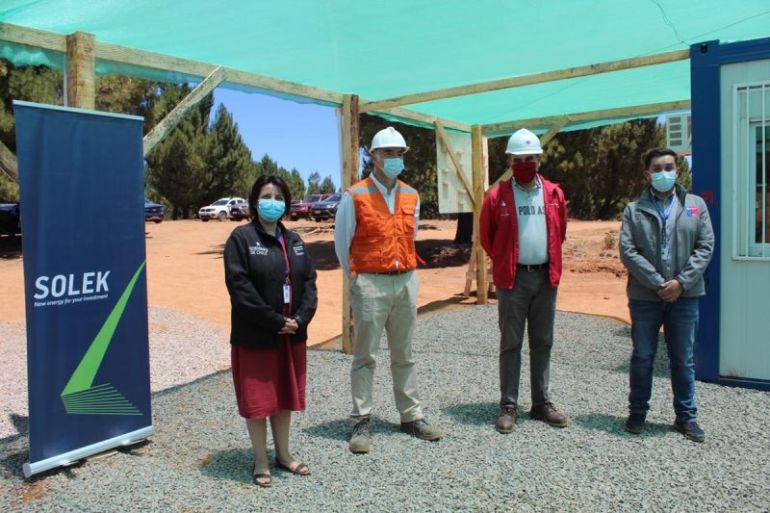 Región del Ñuble sigue empujando energías limpias con construcción de nuevo parque solar El Conquistador