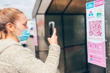 Chilena crea innovadora app para evitar aglomeraciones en ferias libres