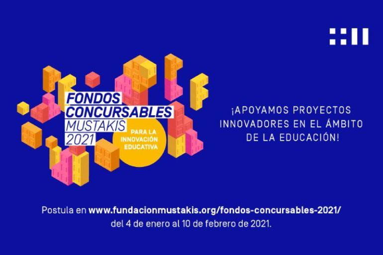 Abren las postulaciones a los Fondos Concursables 2021 de Fundación Mustakis para proyectos innovadores en el ámbito de la educación