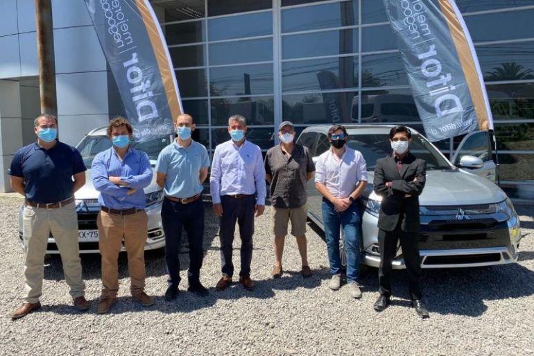 Enel X adquiere flota de Mitsubishi Outlander Phev