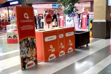 Habilitan puntos de acopio de Coaniquem Store en centros comerciales Espacio Urbano