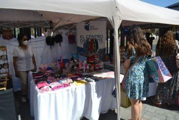 Expo Mujer en el frontis de Mallplaza Antofagasta concesionaria de Empresa Portuaria Antofagasta impulsa a emprendedoras de la ciudad
