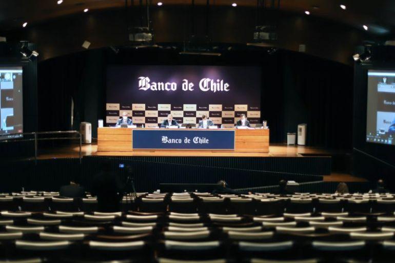Junta de Accionistas de Banco de Chile reafirma su compromiso con el país y sus clientes para enfrentar efectos de la pandemia