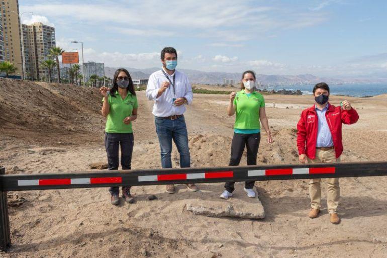 Cierran acceso vehicular para evitar el daño ecológico al Santuario de La Naturaleza y Humedal Urbano Aguada La Chimba
