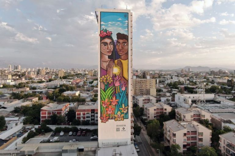 Converse crea mural sustentable que busca romper las barreras en la igualdad de género y raciales