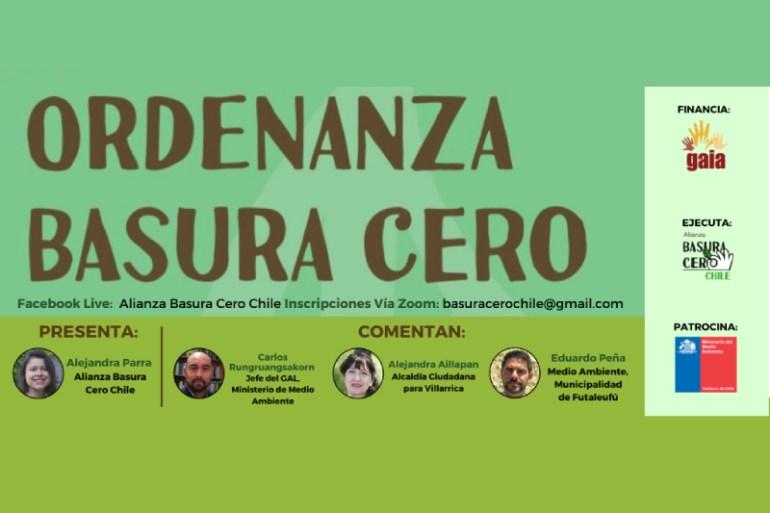Alianza Basura Cero Chile: Recomendaciones para avanzar a un sistema sustentable de gestión de residuos Basura Cero