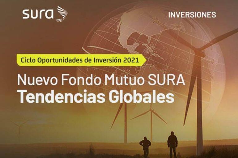 SURA Inversiones lanza nuevo Fondo Mutuo Tendencias Globales que invierte en megatendencias: nuevas tecnologías, cambios sociales y demográficos, innovación en salud y sostenibilidad