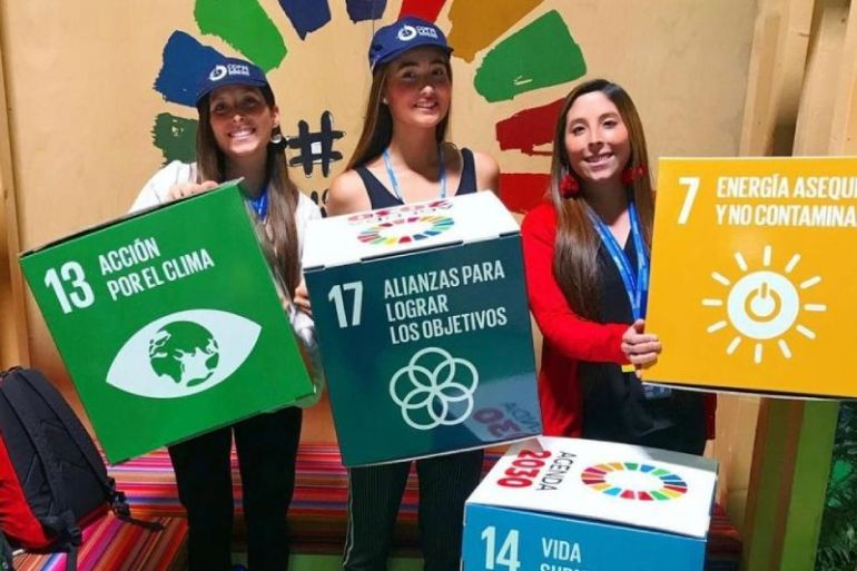 Iniciativa chilena une a más de 600 niñas latinas que se educarán sobre cambio climático