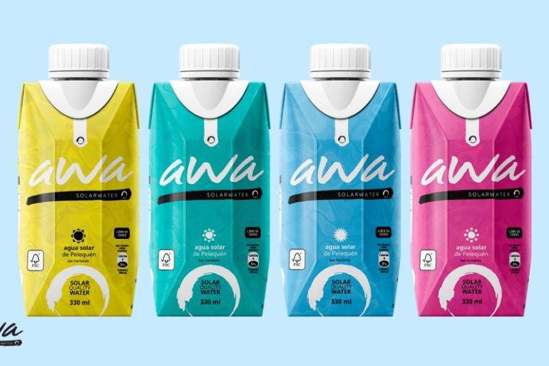 AWA: agua extraída del aire con energía solar 100% renovable