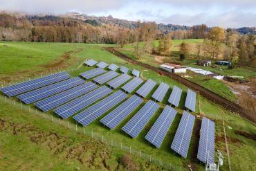 """Planta """"Entre Ríos Solar"""": complejo fotovoltaico en el sur de Chile reducirá  emisión de más de 200 toneladas de CO2 al año"""