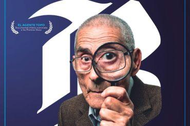 """Banco de Chile y TVN transmitirán """"El Agente Topo"""", el exitoso documental chileno nominado al Óscar"""