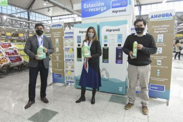 Algramo y Walmart Chile anuncian alianza e implementan iniciativa sustentable con envases inteligentes recargables
