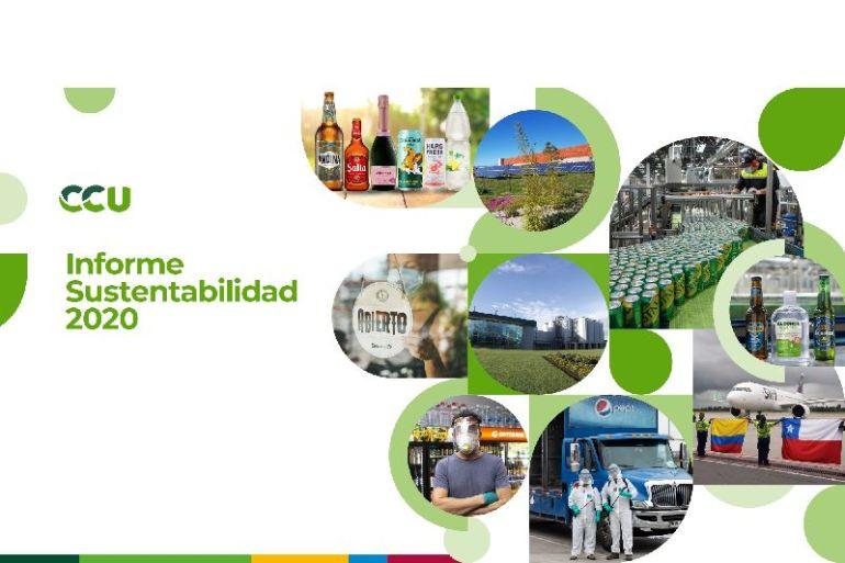CCU publica Informe de Sustentabilidad 2020 con las principales acciones de la compañía en el ámbito económico, social y ambiental