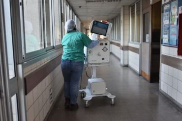Ventiladores hechos en Chile son donados a Hospital Barros Luco para apoyar la demanda de los Centros de Salud de la Región Metropolitana
