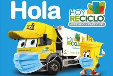 Más de 1.000 familias de Colina y Quilicura accederán a nueva forma de reciclar