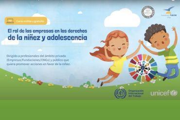 """Lanzan curso pionero sobre """"El Rol de las Empresas en los derechos de la niñez y adolescencia"""""""