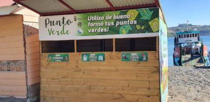 Municipalidad de Quinchao junto a Salmones Austral y SalmonChile impulsan el reciclaje y la gestión de residuos