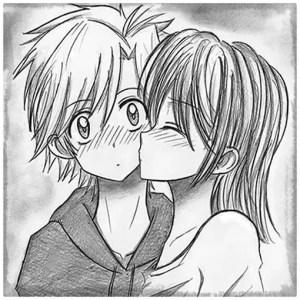 Imagenes de amor para dibujar lapiz faciles
