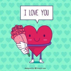 Ai-Valentine-Day-Card-with-Heart-vector-free-download